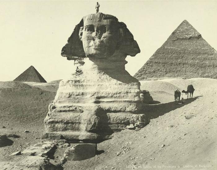 Что с лицом египетского Сфинкса (7 фото)