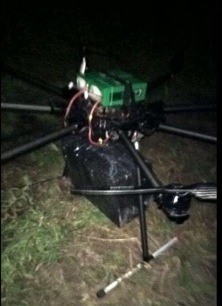 Украинец переправлял сигареты в Венгрию с помощью дрона