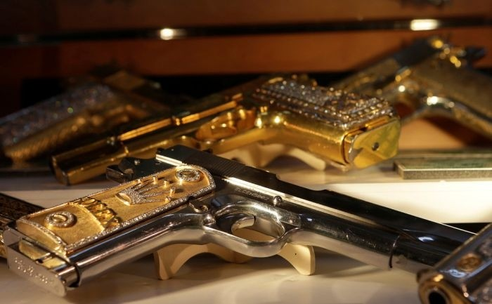 Драгоценное оружие мексиканских наркобаронов