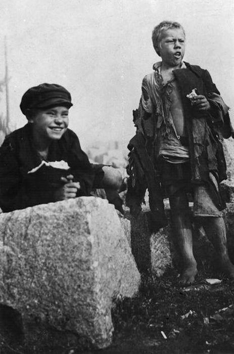 Советские беспризорники 20-х годов