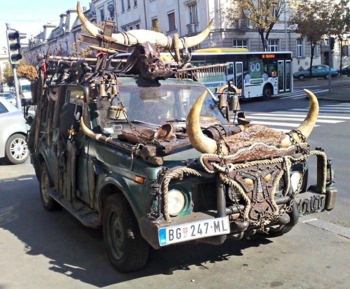 Креативные решения автомобилистов