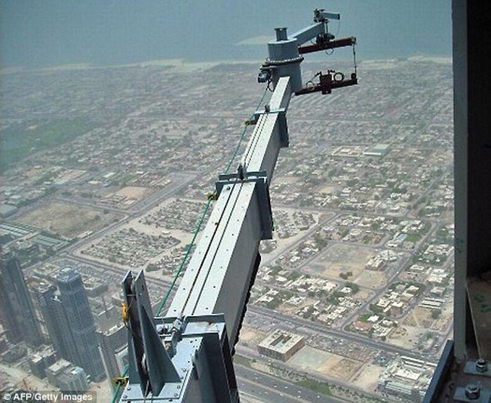 Мойка на высоте (17 фото)