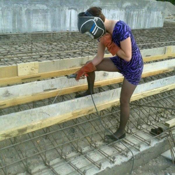 Девушки и женщины, прекрасно справляющиеся с мужской работой