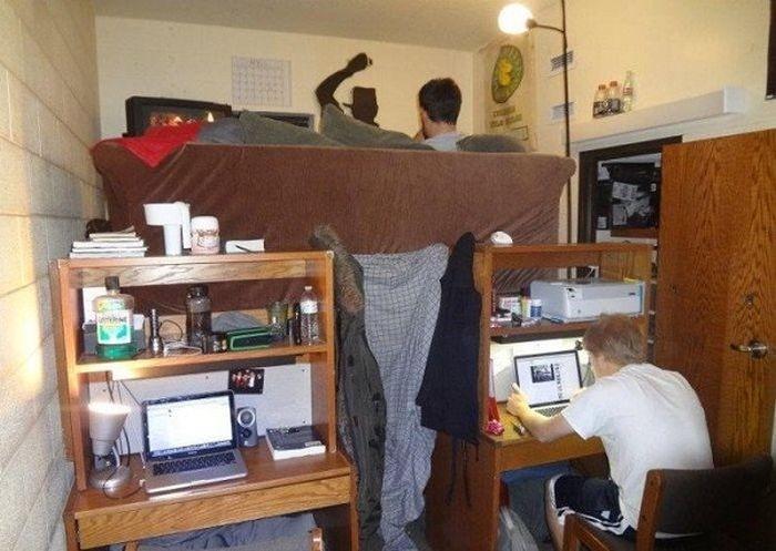 Студенческая жизнь в общежитиях