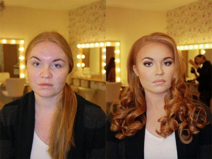 Интересные фото из серии «до и после»