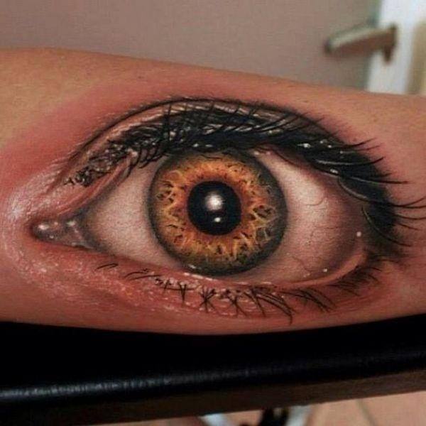Крутые татуировки в стиле гиперреализма
