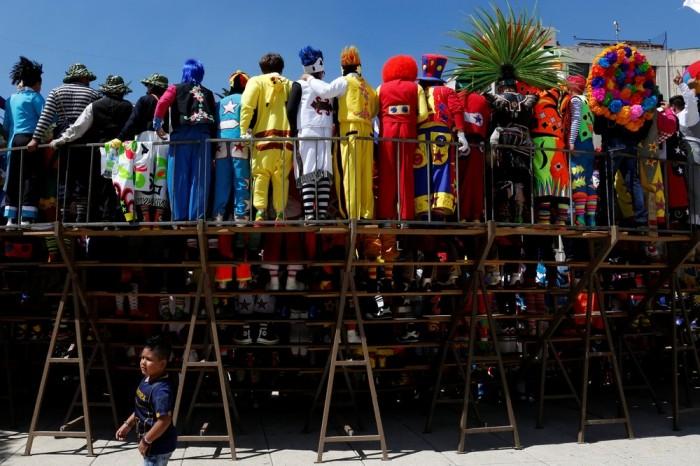 XXI конвенция клоунов в Мехико