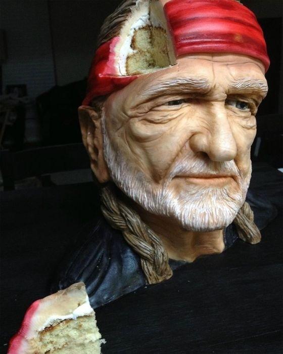 Торты-скульптуры, которые жалко есть