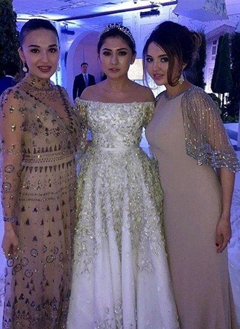 Свадьба дочери таджикского олигарха Илхома Шокирова и платье за 40 млн рублей