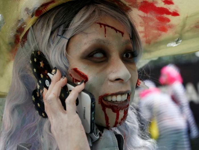 Парад в Кавасаки посвященный Хэллоуину