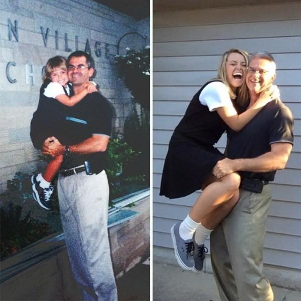До и после: повзрослевшие школьники (8 фото)