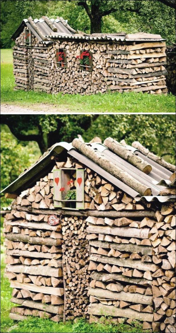 Искусство складывать дрова