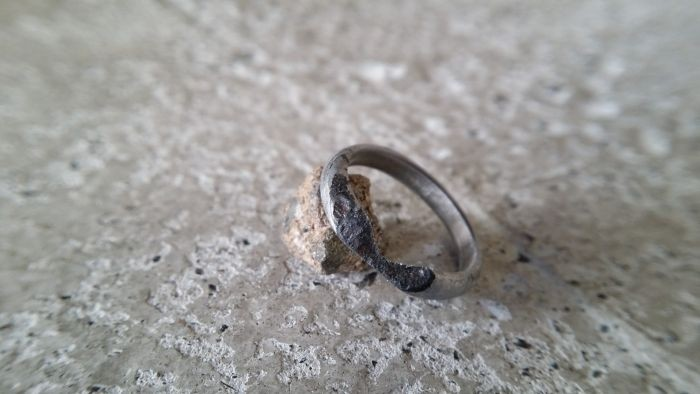 Кольцо из метеорита своими руками