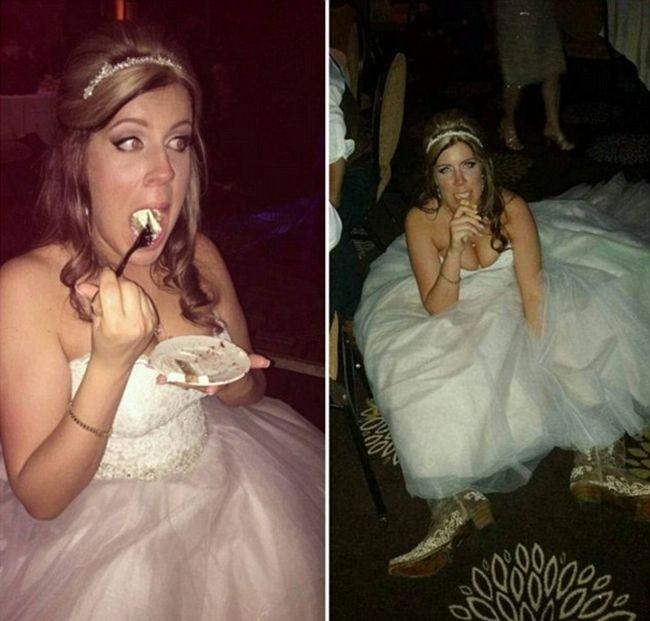 Свадебные фото невест, которым нет места в семейном альбоме