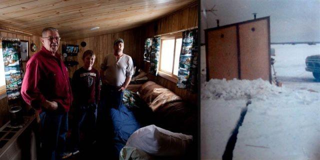 Домик для рыбалки (17 фото)