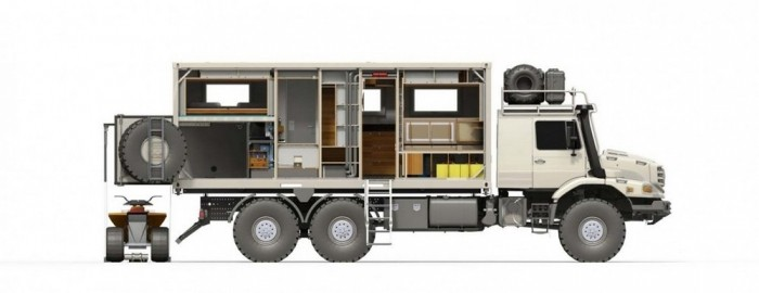 «Дизайнерские» автомобильные дома на колесах