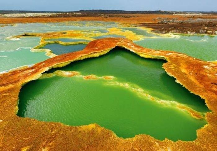 Красивые и захватывающие места на планете