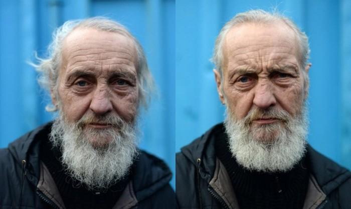 Бездомные со стильными стрижками появились на улицах Санкт-Петербурга (8 фото)