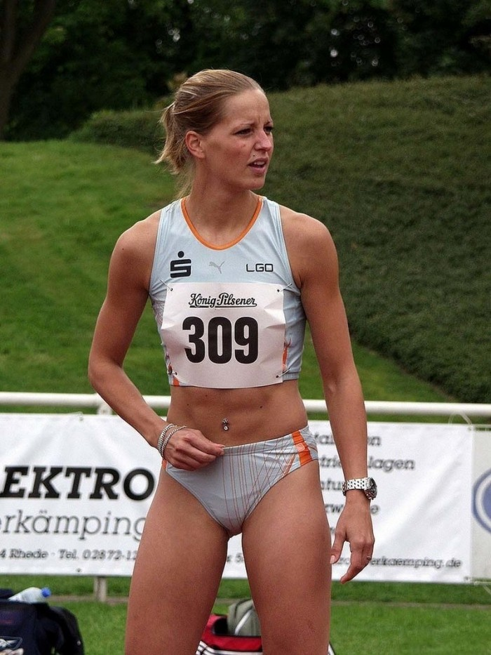 Интересные и забавные фото с женских соревнований