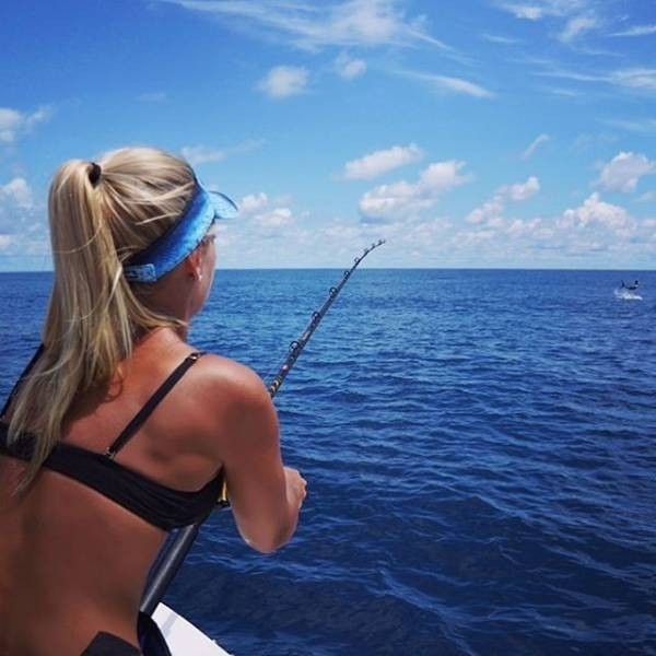 Мишель Клаватт - самая очаровательная в мире рыбачка