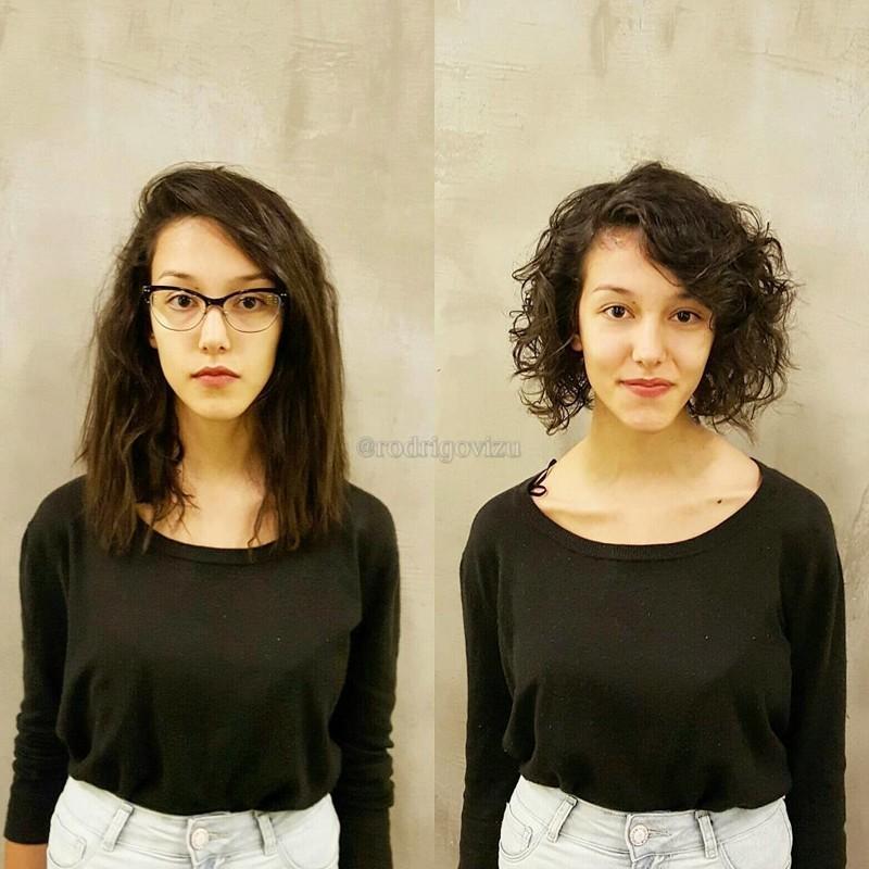 До и после: как одна лишь стрижка способна кардинально преобразить человека