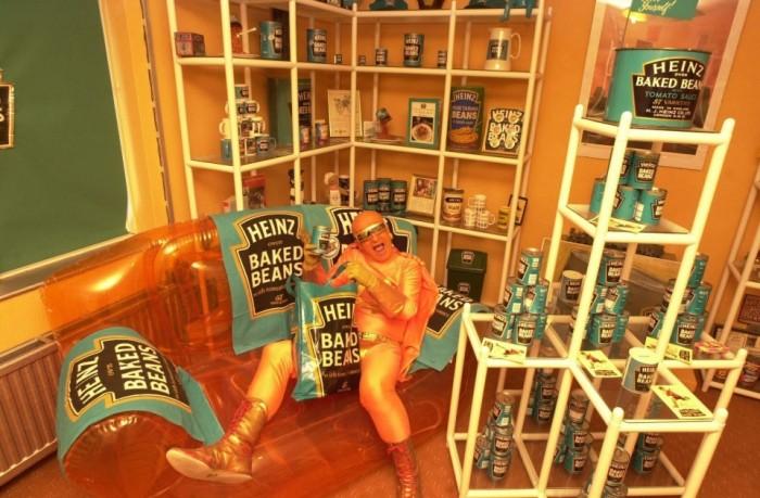 Британец превратил свою квартиру в музей фасоли