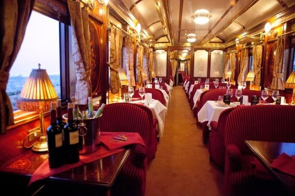 Самые роскошные поезда (19 фото)