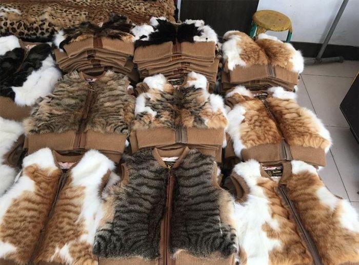 Женские жилетки на китайском интернет-аукционе