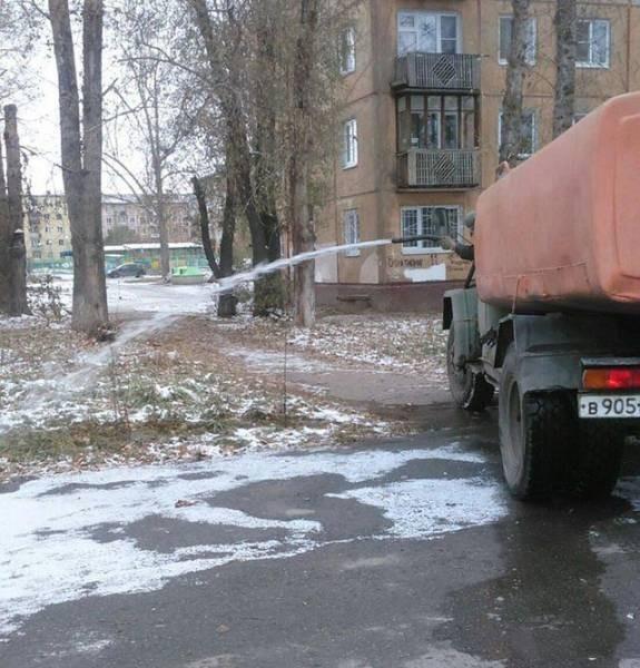 Фото, которые возможно было сделать только в России