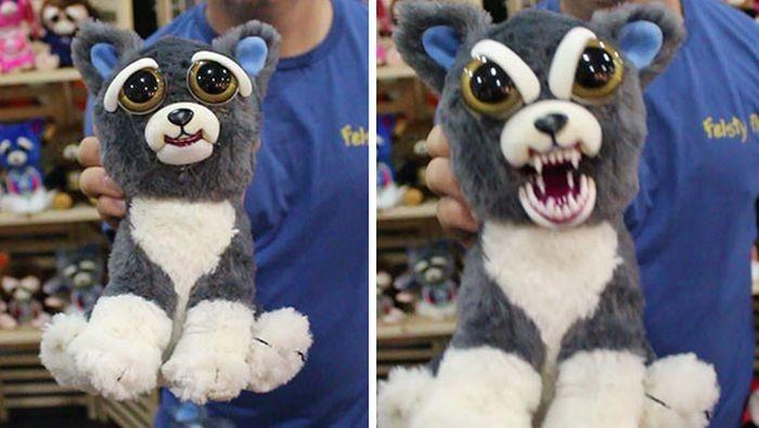 Необычные плюшевые игрушки (4 фото)