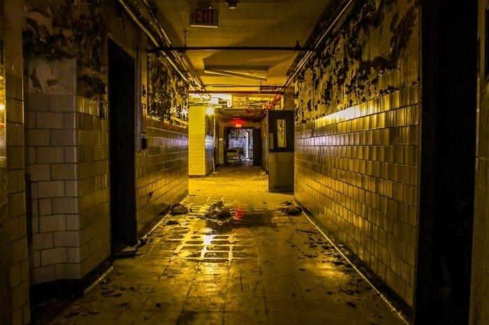 Заброшенная больница в Новом Орлеане