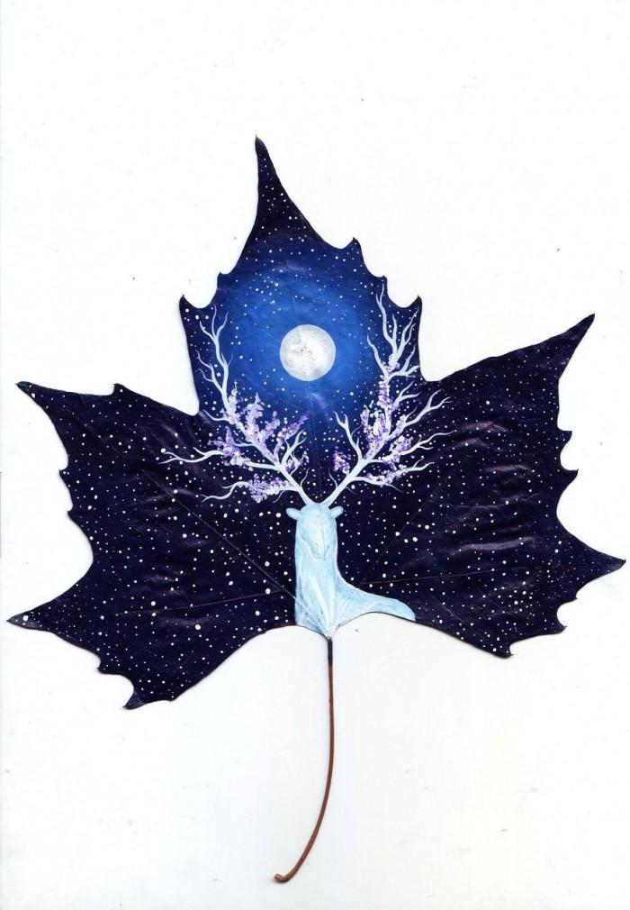 Волшебные опавшие листья грузинской пары