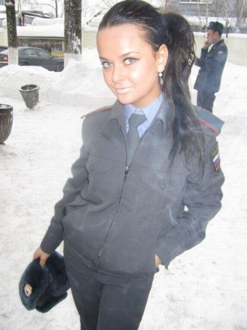 Гламурная сотрудница МВД (34 фото)