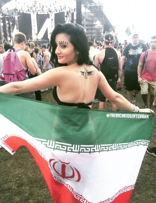 Как живет «золотая молодежь» Ирана