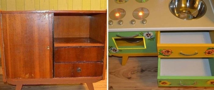 Достойные примеры редизайна советской мебели