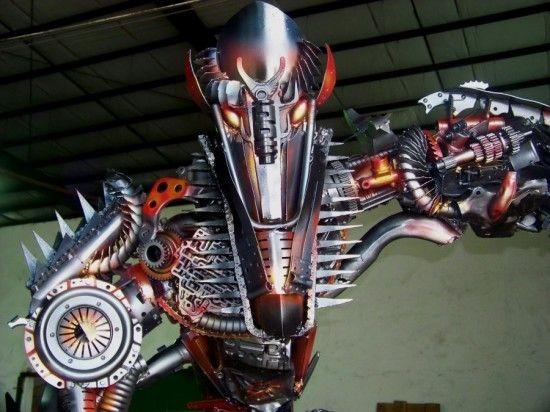 Скульптуры фанатов фильма Трансформеры (15 фото)