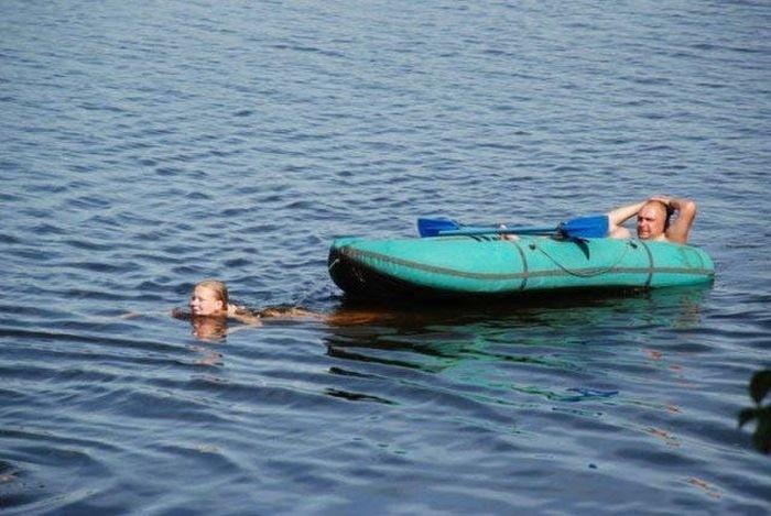 Необычные лодки и их забавные пассажиры