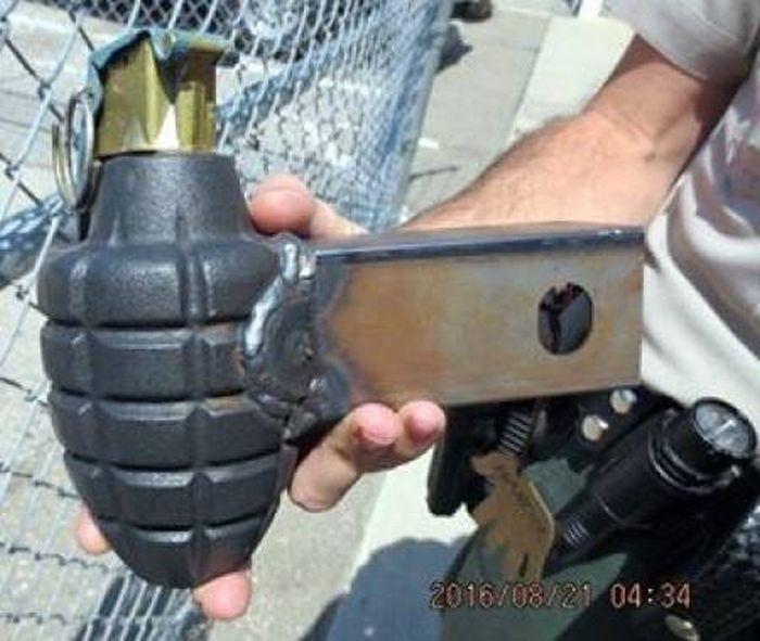 Оружие, конфискованное у пассажиров самолетов