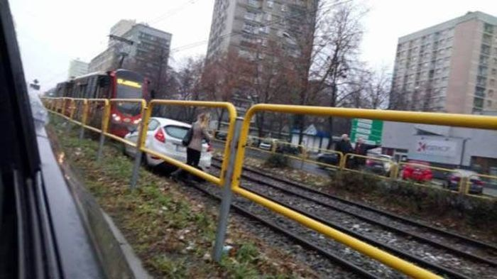 Странные аварии и ДТП (43 фото)