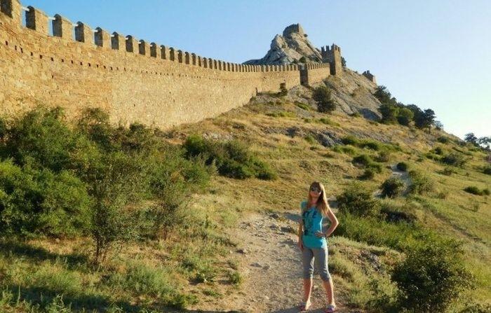 Девушки на отдыхе в Крыму