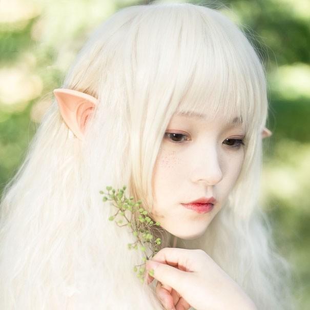 Наушники в виде эльфийских ушей