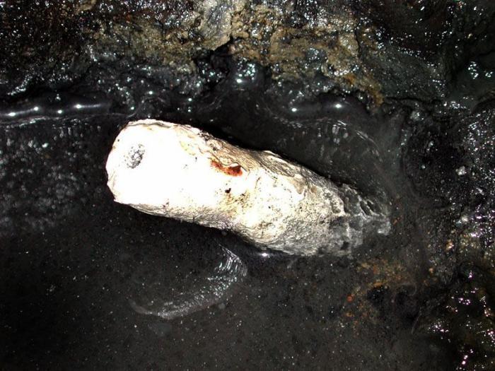 Древняя подводная лодка Ханли (10 фото)