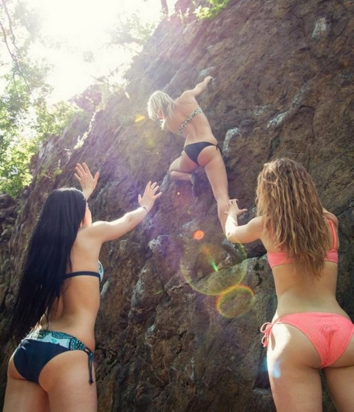 Забавные картинки с девушками
