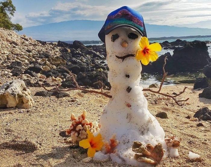 Снегопад на Гавайях