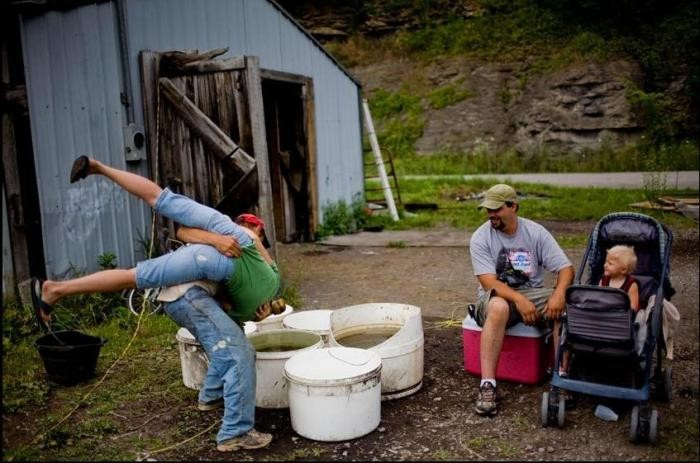 Сельская жизнь в Кентукки (47 фото)