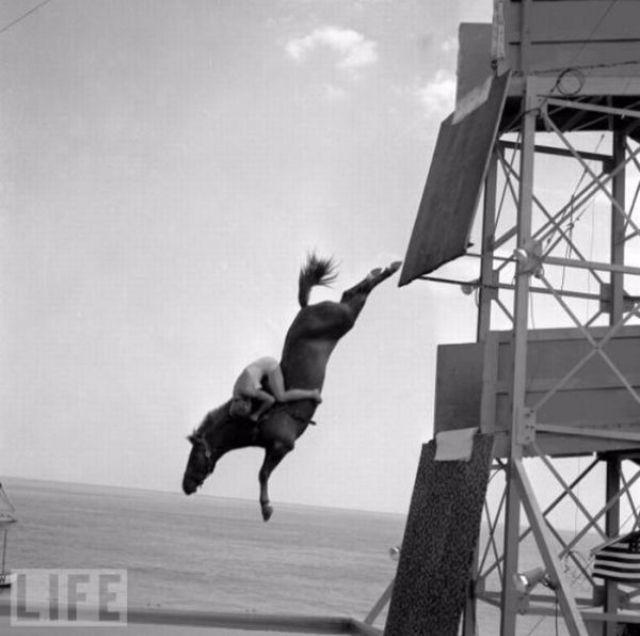 Безумные трюки в исполнении каскадеров начала прошлого века