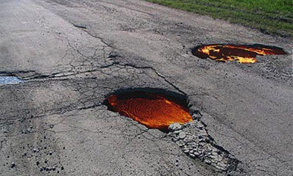 Прикол на дороге (4 фото)