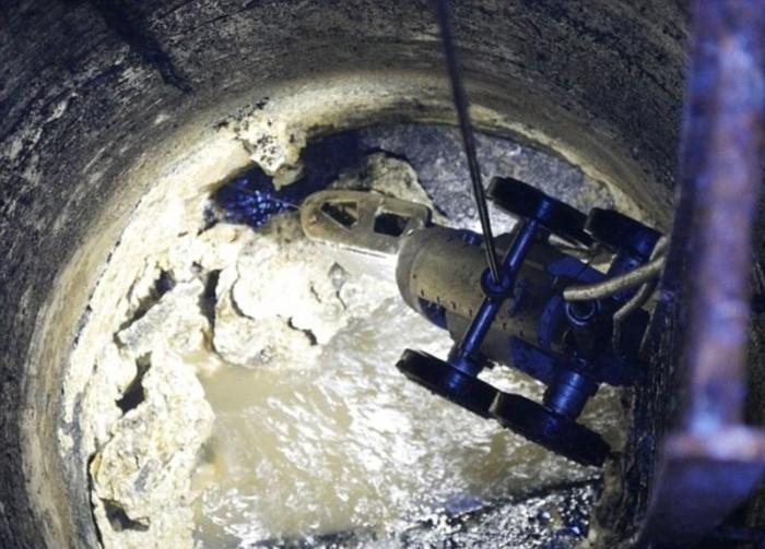 Огромные «айсберги» из жира в британской канализации