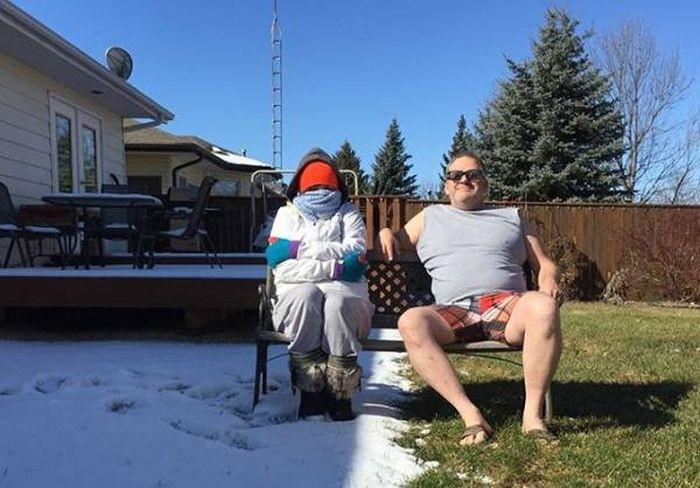 Смешные фото из Канады
