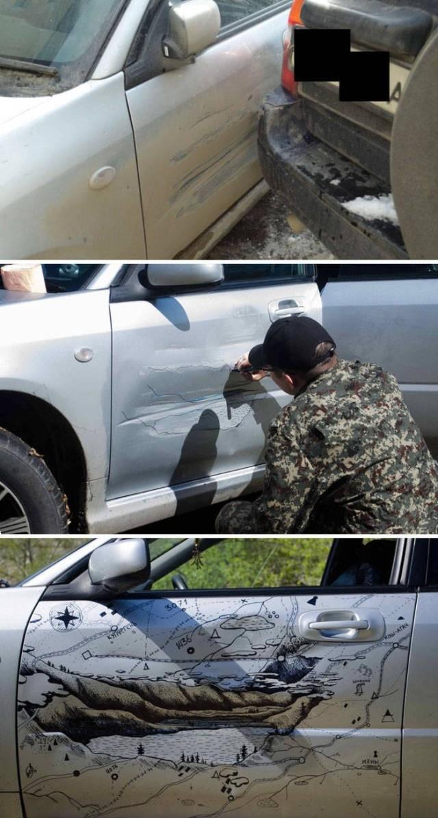 Примеры быстрого ремонта